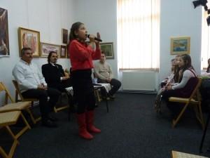 Roxana Ghiuzan, o speranță  a muzicii românești