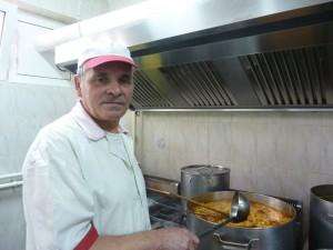 Bucătarul Costică Maftei