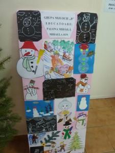 """""""Bucuriile iernii"""", la Grădiniţa cu program prelungit nr. 1"""
