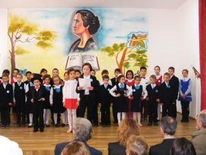 Poeta sufletelor simple a fost omagiată la Școala Cotu Vameş