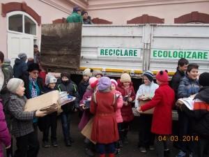 """Elevii de la """"Vasile Alecsandri"""" au salvat 20 de copaci"""