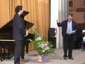 Peste 500 de romaşcani, la concertul pianistului Mihail Horia