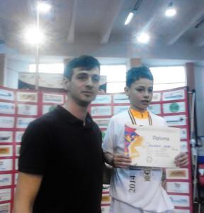 Matei Octavian Severin este dublu campion naţional