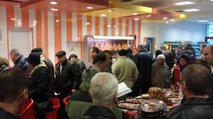 Inaugurarea supermarketului Marcel s-a bucurat de succes