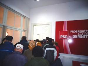 PSD a adus bucurie în casele a 200 de romaşcani
