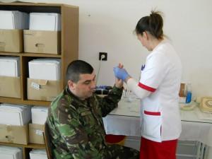 Acţiune umanitară a militarilor romaşcani