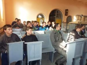 """Lecţie de religie iudaică la Sinagoga """"Leipziger"""" din Roman"""