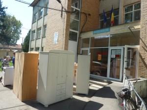 Donaţie de mobilă la secţia de Pediatrie