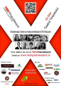 TEDx Piatra Neamţ, primul pas spre un drum de succes