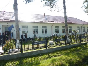 Școala din localitatea Moreni