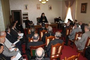 Deputaţii eparhiali au depus jurământul