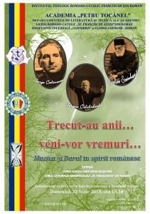 """Seară culturală organizată de Academia """"Petru Tocănel"""""""