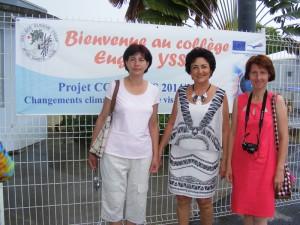 """O echipă de la """"Vasile Sav"""" a studiat ecosistemul mangrovelor din Guadeloupe"""