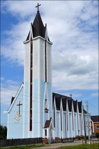 La Satu Nou, biserică nouă