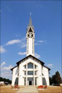 Biserică nouă la Nisiporeşti