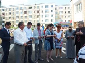 Parcarea de la spital a fost inaugurată