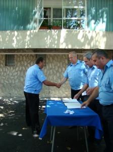 Avansări în grad la Inspectoratul Judeţean de Jandarmi