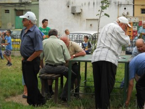 "Clubul pensionarilor ""tablagii"""