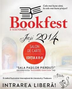 Salonul de carte Bookfest se deschide la FILIT
