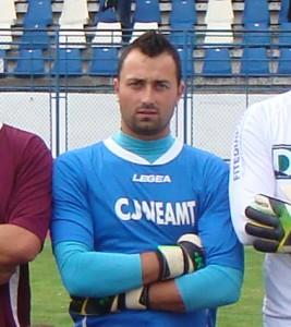 Daniel Burlacu, portar golgheter la Voinţa Ion Creangă