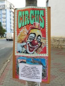 Patru zile de circ la Roman