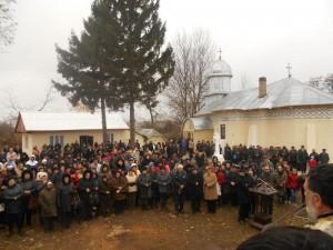 PS Ioachim Băcăuanul a resfințit biserica din Satul Nou