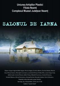 Artişti romaşcani la Salonul de iarnă de la Piatra Neamț