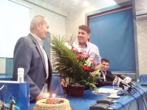În iunie 2013, administraţia locală a organizat o festivitate dedicată lui Otto Mayerhoffer, cu prilejul împlinirii a 70 de ani