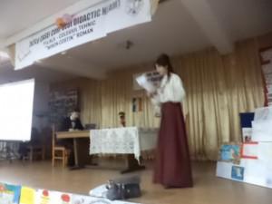 Mihai Eminescu a fost sărbătorit de elevii romaşcani