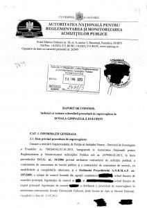 ANRMAP vrea 40.000 de lei din bugetul Școlii Dulceşti