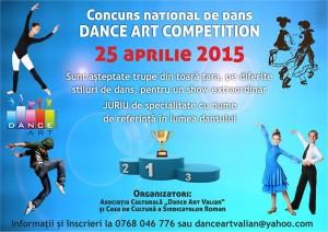 Romanul este gazda unui concurs național de dans pentru copii