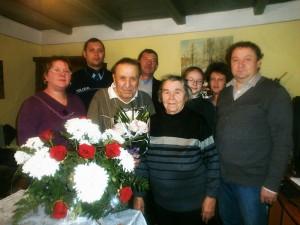 Primăria Văleni l-a sărbătorit pe profesorul Octav Beşleagă