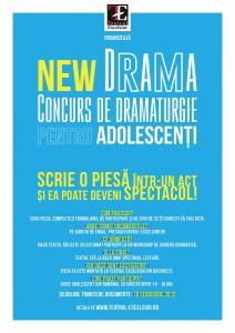 Concurs de dramaturgie pentru adolescenți