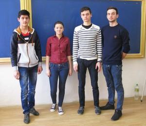 "Elevi de la Liceul ""Vasile Sav"", finalişti naționali"
