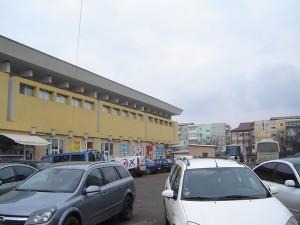 Parcare modernizată lângă Casa Afacerilor