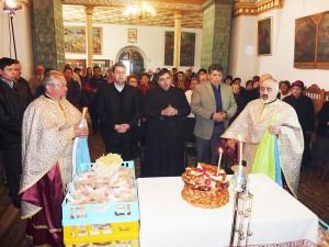 Slujbă de comemorare a martirilor armeni