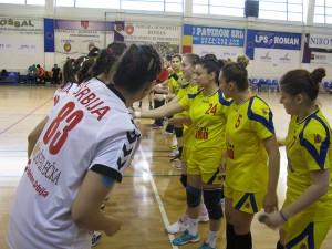 Naționala feminină de handbal U19 a României s-a calificat la turneul final european