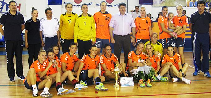 HCM Roman întâlneşte campioana României