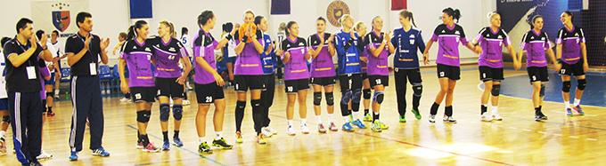 Finala mică a Ligii Naționale de handbal: HCM Roman – Corona Braşov