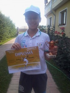 """Petru Doboş, învingător la turneul Cupa """"Leo"""" Iaşi"""