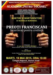 """""""Preoți franciscani încarcerați pentru credință"""""""