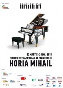 Horia Mihail concertează marți la Roman