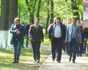 De 1 Mai, surpriză politică în parcul municipal