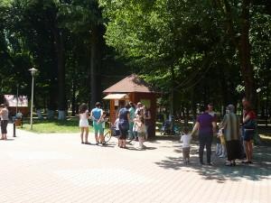 Parcul Municipal s-a umplut de veselie şi culoare, de 1 iunie