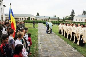 Dublă ceremonie la Centrul Eparhial Roman