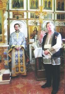 Ia românească este promovată în biserici