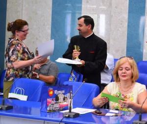 Seminariști premiați pentru colectare selectivă a deșeurilor