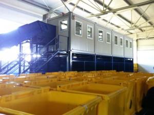 Birocrația ține închisă stația de sortare deșeuri de la Cordun