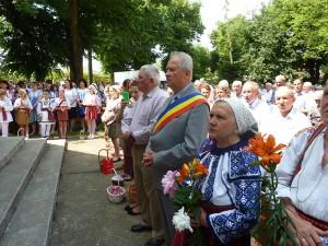 Episcopul Petru Gherghel s-a întâlnit cu fiii comunei Gherăești