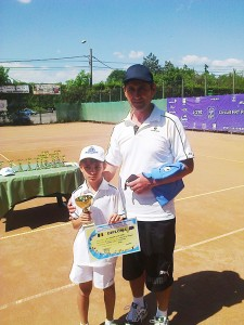 Matei Băncescu, al treilea la Cupa Coreco Iaşi